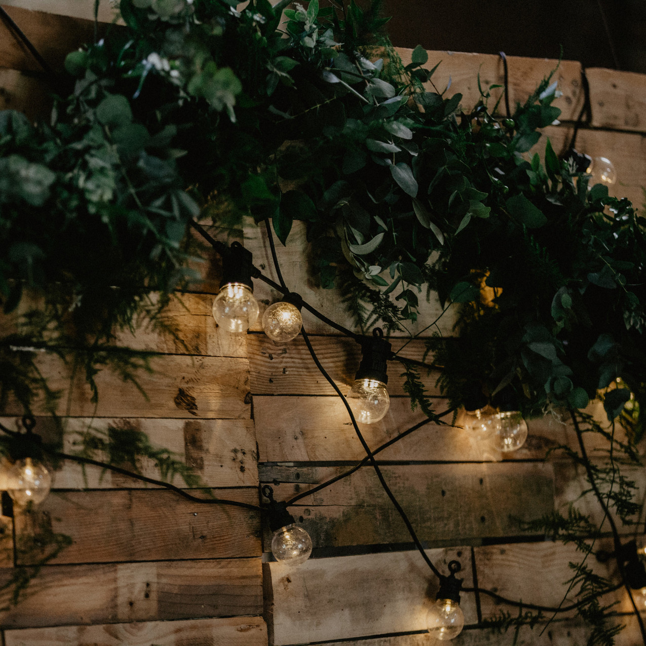 Foliage & styling by Hall & Co