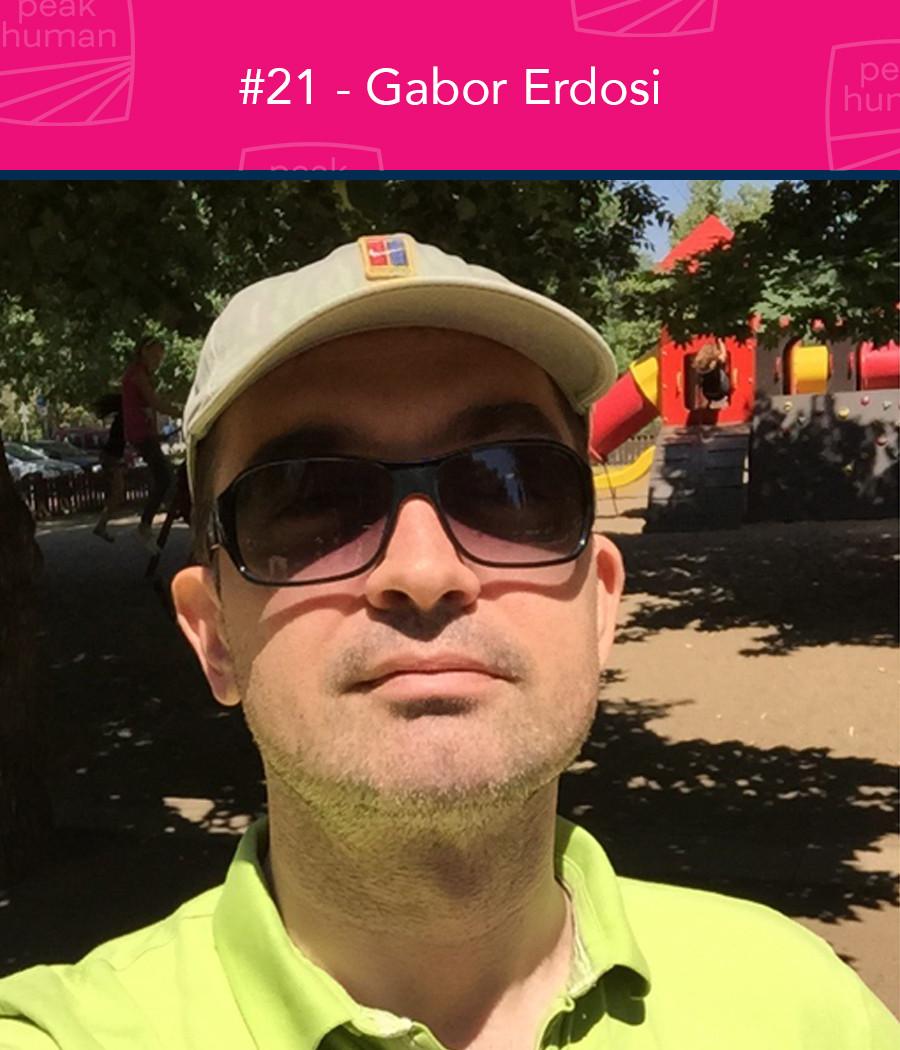 Gabor Erdosi - Peak Human Podcast