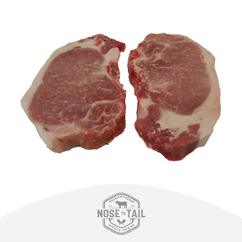 Omega-3 Pork Loin Chops