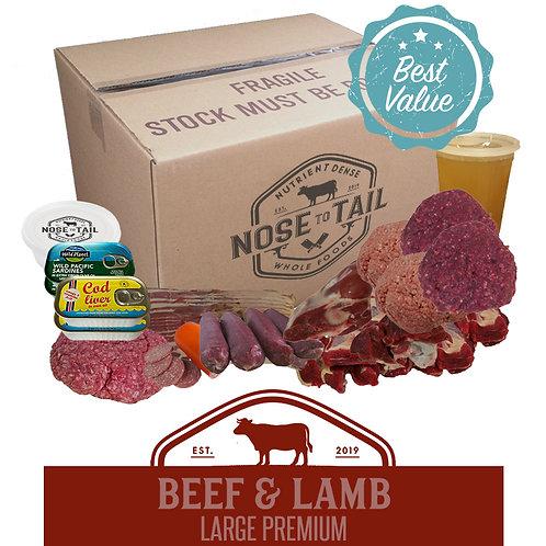 Beef & Lamb | Large Premium