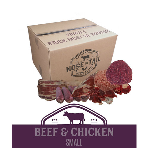 Beef & Chicken | Small