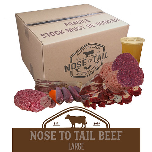 Nose to Tail Beef | Large