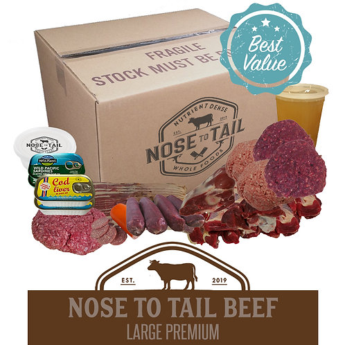 Nose to Tail Beef   Large Premium