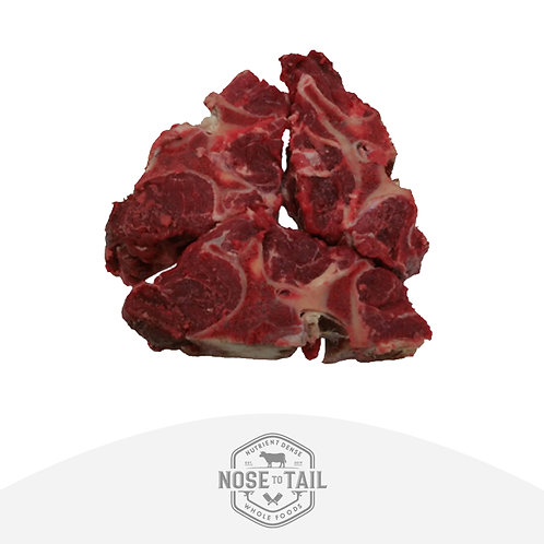 Grass Fed Beef Meaty Neck Bones