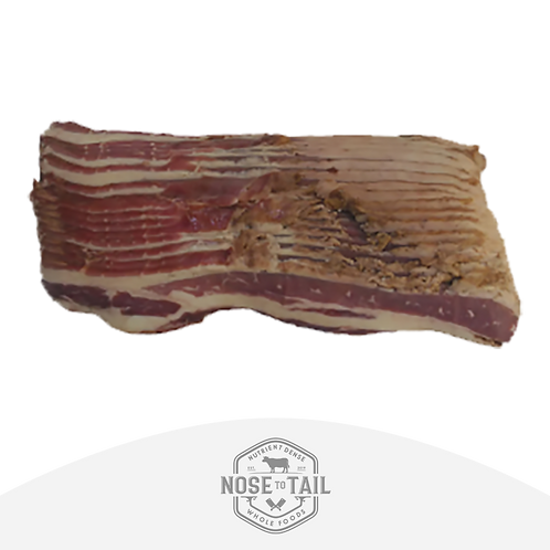 Grass Fed Smoked Beef Bacon