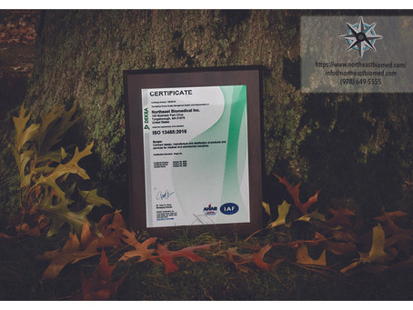 Official ISO 13485 Certification Press Release