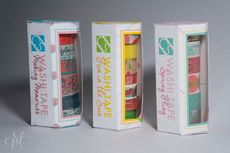 Washi Tape All-In-One Dispenser Package Design