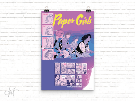 Paper Girls Promotional Poster