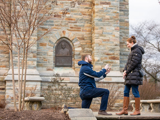 Geordan & Sarah | Proposal in Baker Park