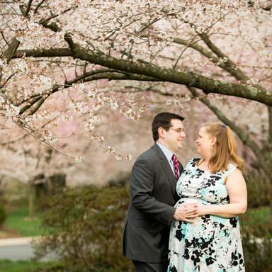 Deirdre and Matt Maternity