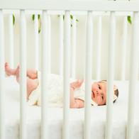 Miller Newborn Closeup Crib