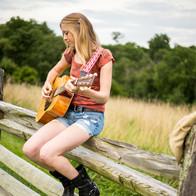 Guitar Senior portrait