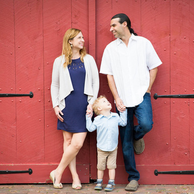 Barn Family Portrait