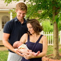 Ellis Family Newborn Portrait