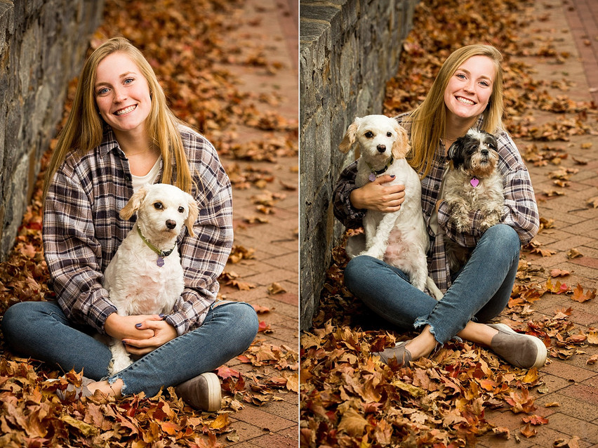 High school senior portrait, senior photo, downtown frederick, carroll creek photography, senior photographer, frederick photographer near me, best senior photographer, portrait photography, dogs, family dogs