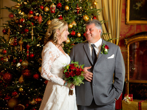 Kimberly & Bryan | Holiday Wedding at Antrim 1844