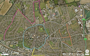 Molly's map of chichester