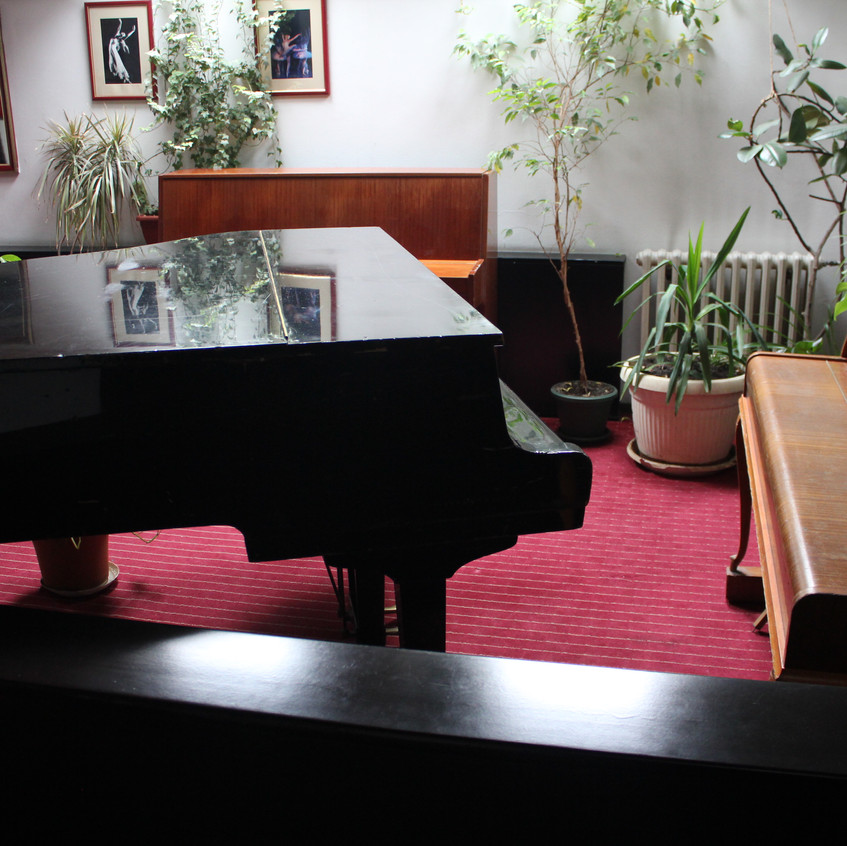 a piano at the national theatre