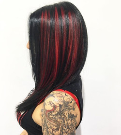 Rockin' ladies need rockin' hair! _Fresh color and style using _gmreverie products MILK and e v e r