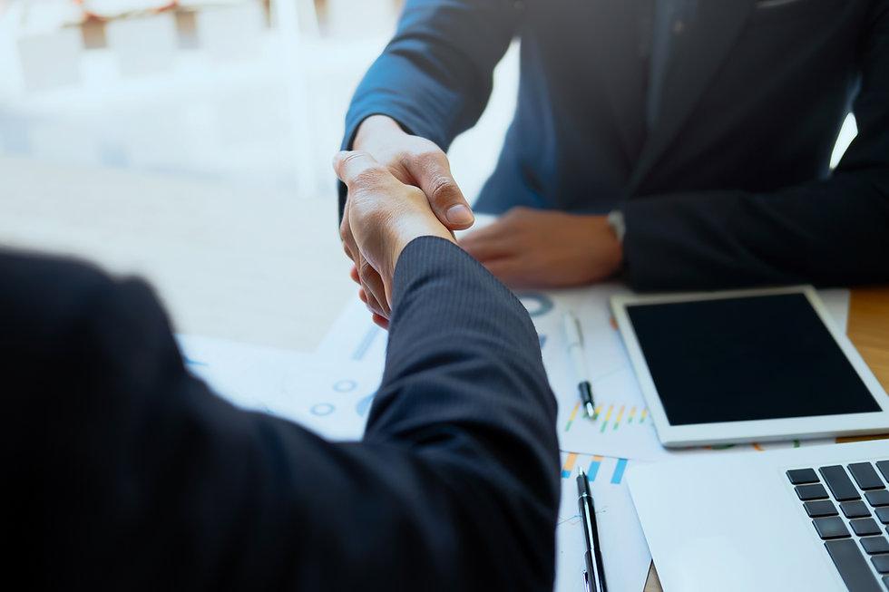 Successful Business Peolple Handshaking