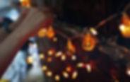 Luces de cadena de halloween