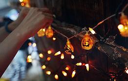 Halloween-lichtslingers