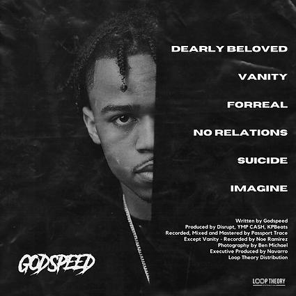 GODSPEED Dearly Beloved Back Cover (Phot