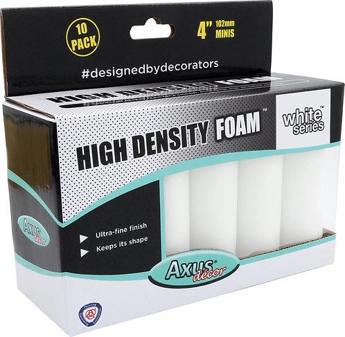 Axus HD Foam Rollers 4in 10pk