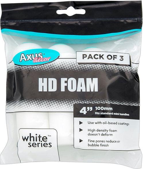 Axus HD Foam Rollers 4in 3pk