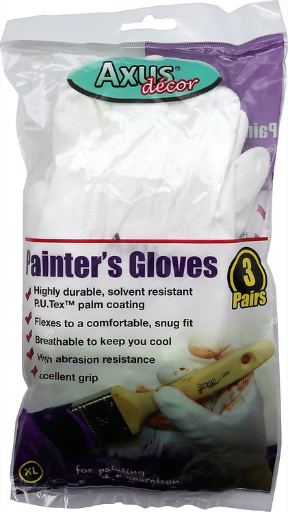 Axus Painter`s Gloves 3 pairs