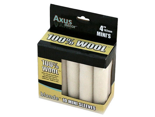 Axus Wool 4in Rollers