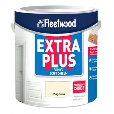 Fleetwood Extra Plus Vinyl Soft Sheen Magnolia