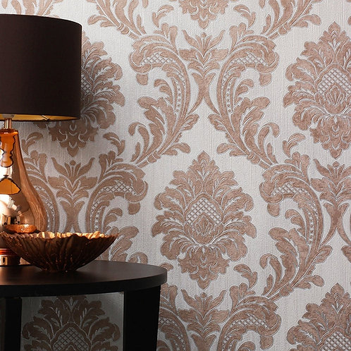 Milano Damask Rose Gold