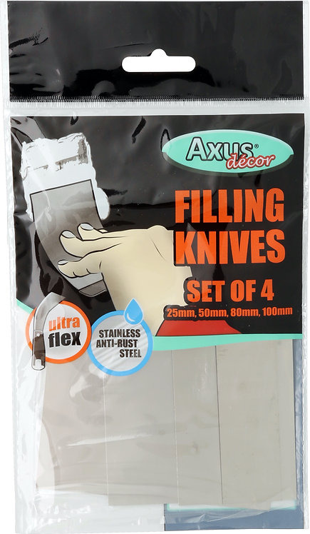 Axus Filling Knives Set of 4