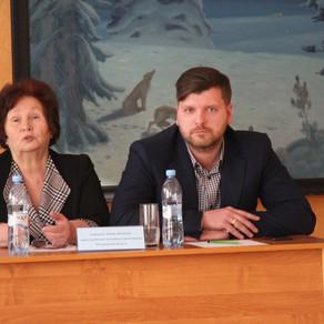 Просветительская встреча в Осинниковском городском округе.