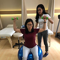 Physio Medical Clinic Physiotherapy Jakarta Testimonial Shoulder Exercise