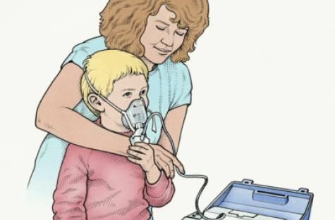 Nebulizer pada Anak yang Mengalami Gangguan Pernapasan