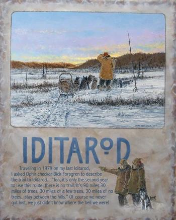 2020 Iditarod Poster
