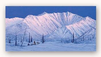 "2006 Iditarod Poster ""Alaska's Iditarod... Looking back"""