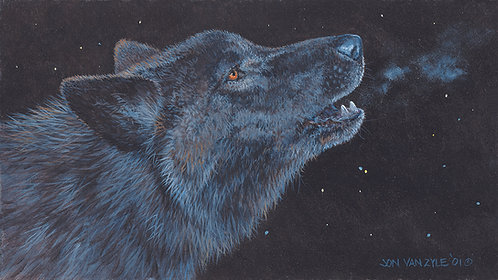 Howling Wolf -$4,500 - SOLD