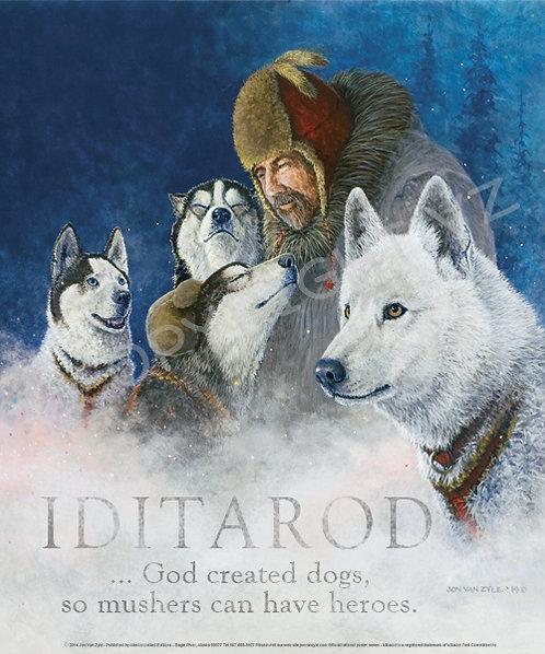 2014 Iditarod Poster