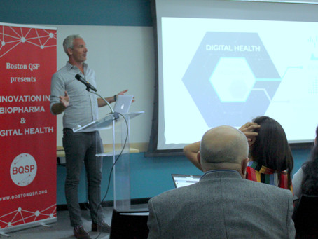 "Boston QSP October Event ""Innovation in BioPharma & Digital Health"": The Photo Blog"