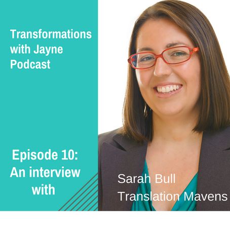 Podcast: Episode 10- Interview with Sarah Bull