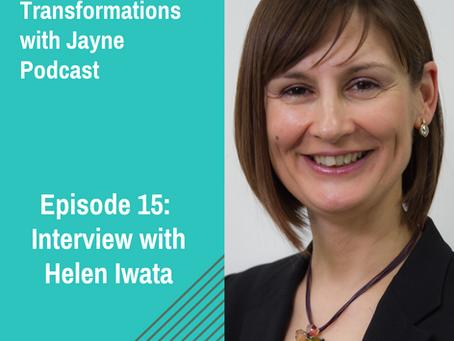 Episode 15: Interview with Helen Iwata