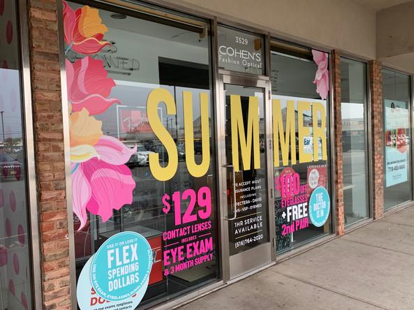Summer Window Graphics
