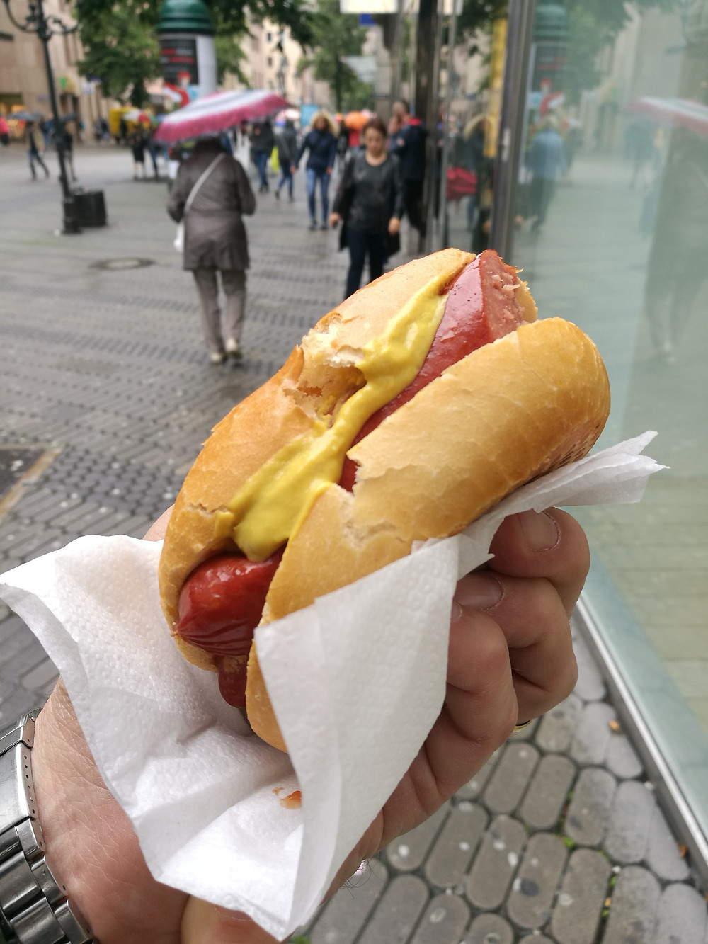 Beef Bratwürste, I had in Nuremberg