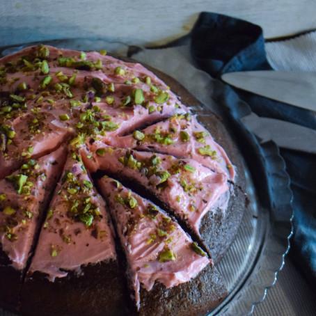 "Nini's Twist on ""Never Fail Chocolate Cake"" Recipe"