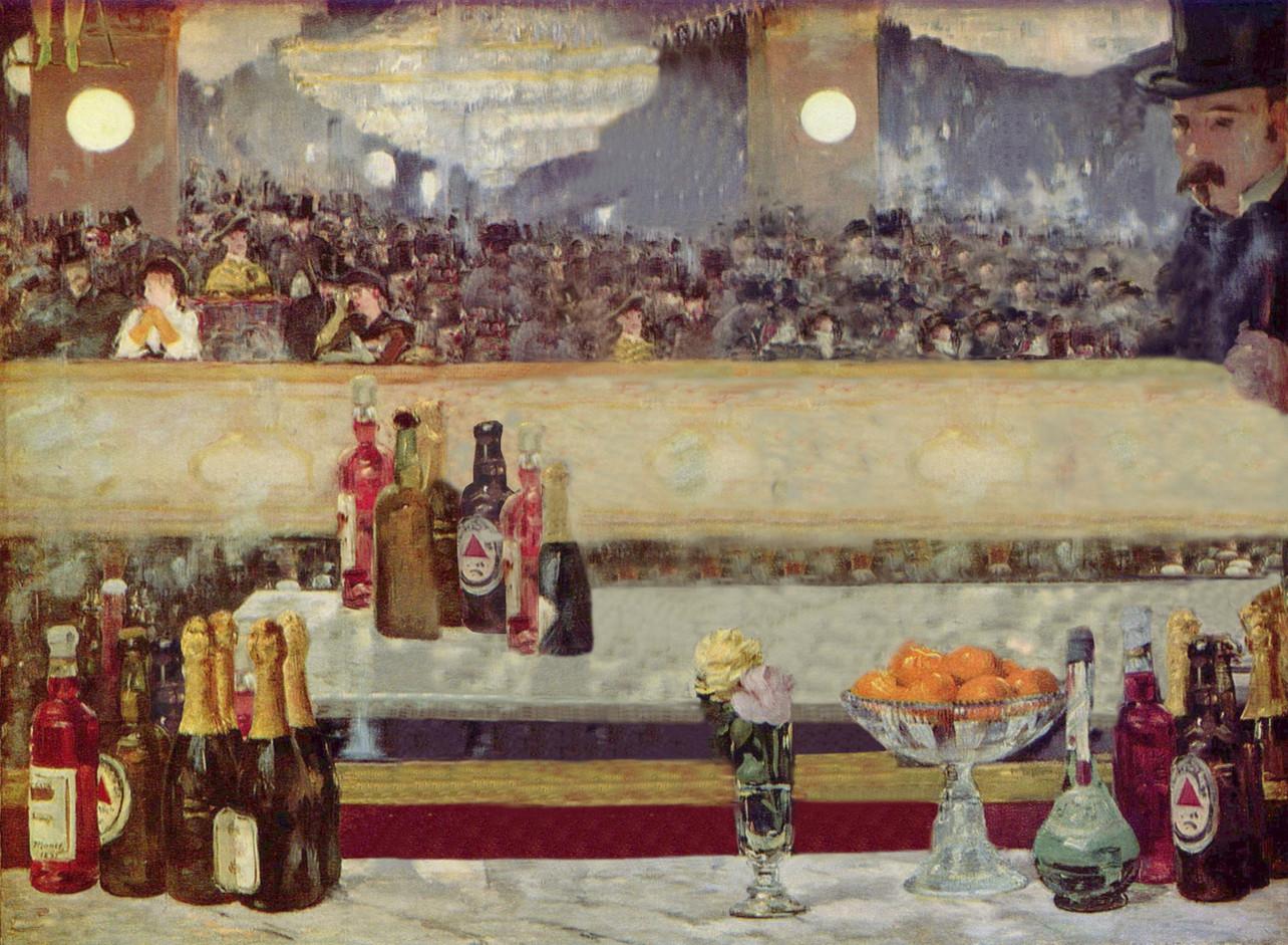 A Bar at Folies Bergere