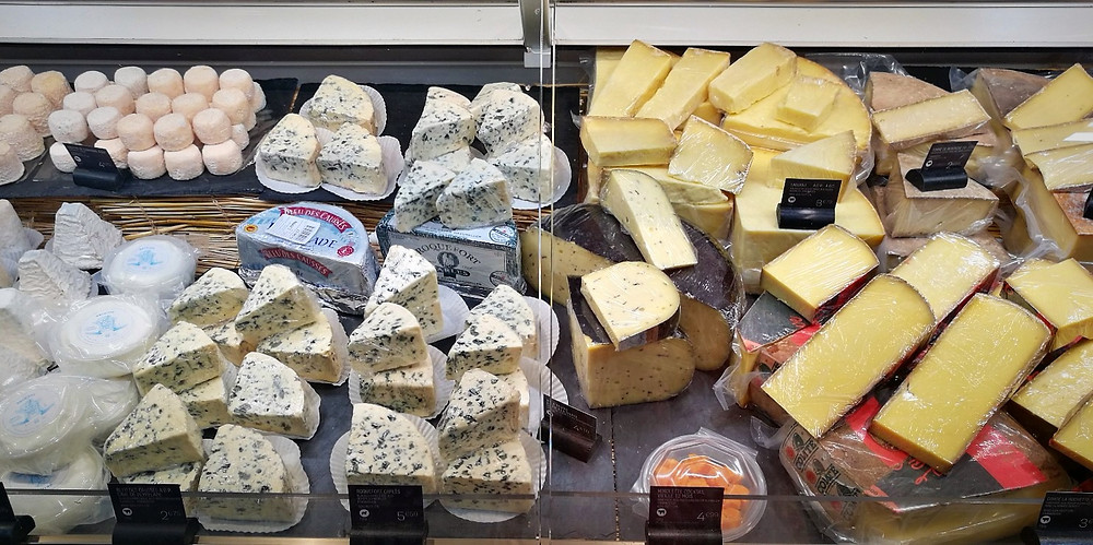 Cheese at Galeries Lafayette