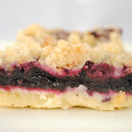 My Mixed Berry Crumble Bars